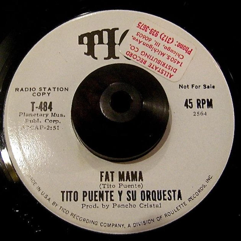 TITO PUENTE / FAT MAMA / WORK SONG