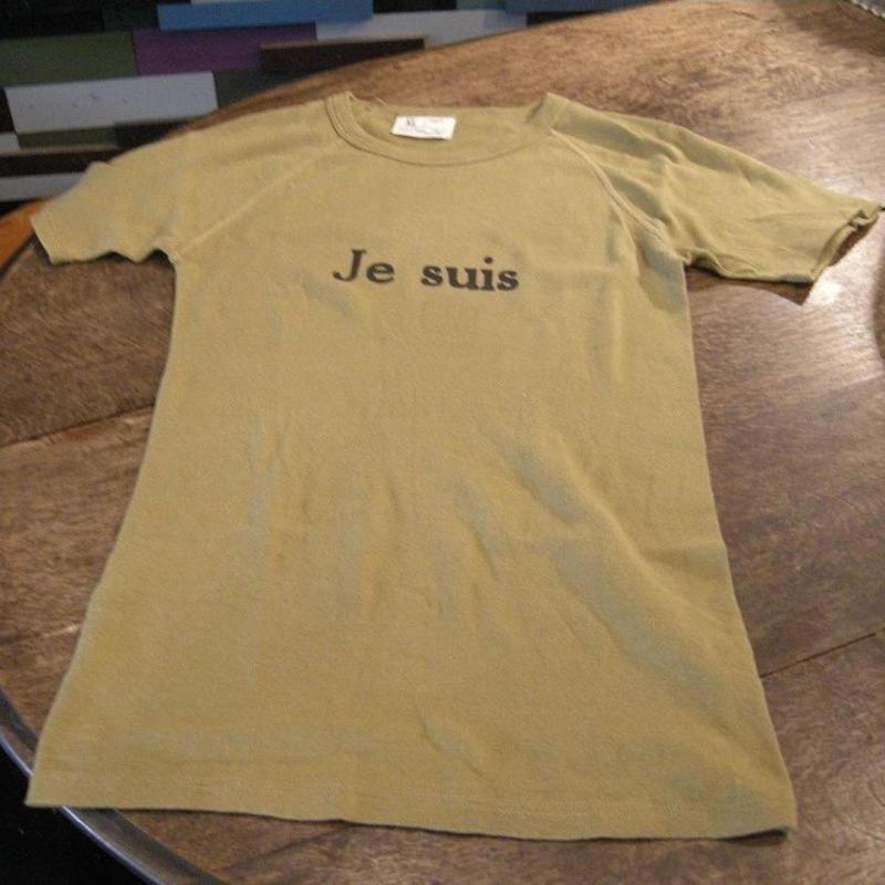 オリジナルTシャツ、Je suis、ミリタリー