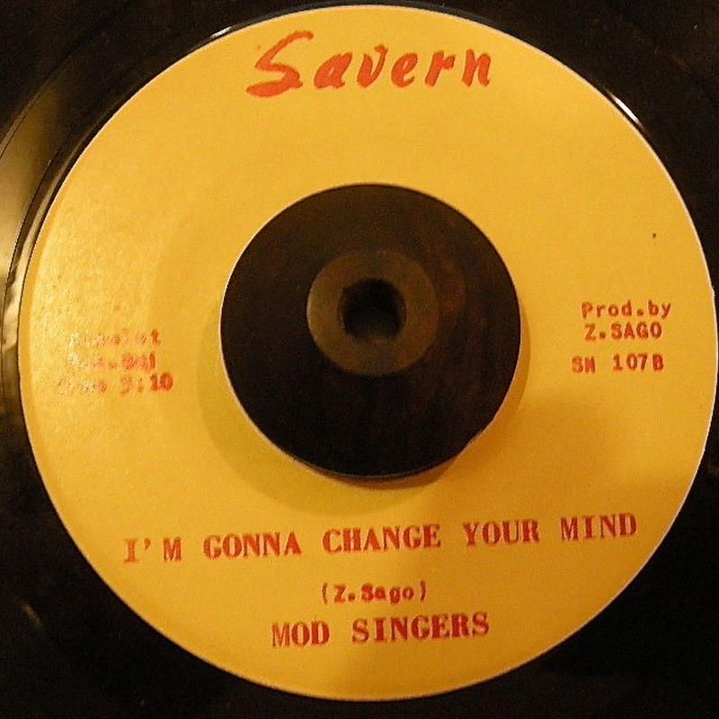 MOD SINGERS / I'M GONNA CHANGE YOUR MIND