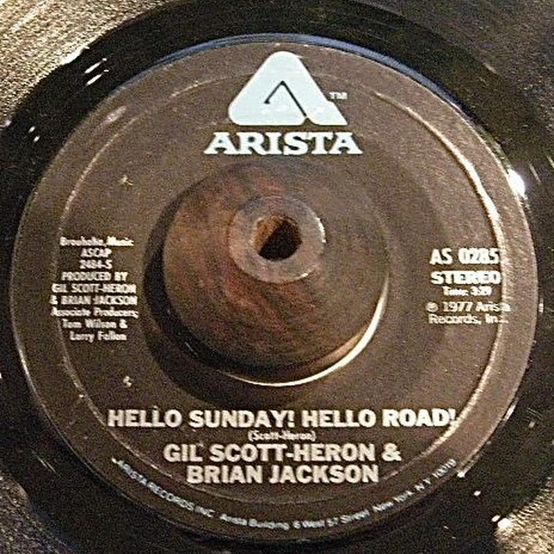 SOUL FUNK45:GIL SCOTT-HERON&BRIAN JACKSON/SONG OF THE WIND