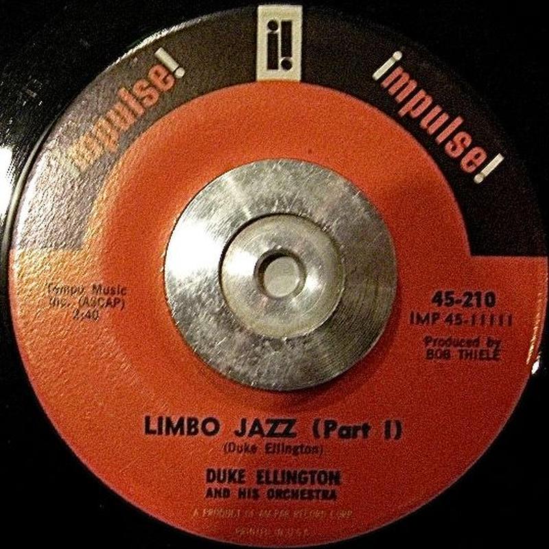 JAZZ  45*DUKE ELLINGTON AND HIS ORC / LIMBO JAZZ