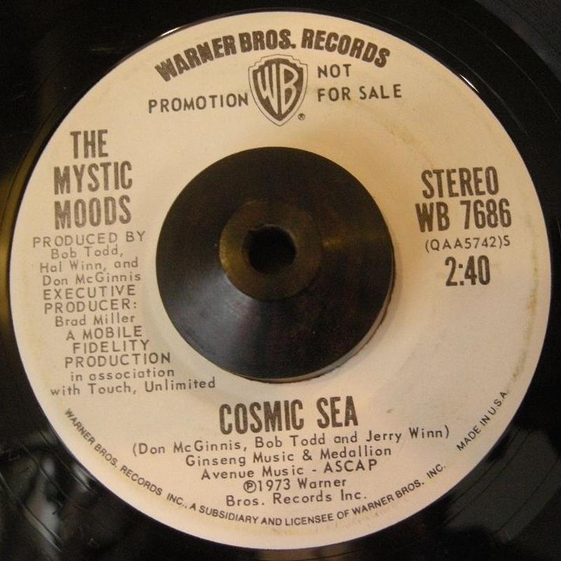 FUNK45  THE MYSTIC MOODS / CSMIC SEA
