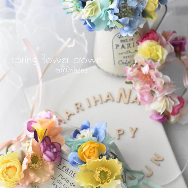 【限定】spring花かんむり