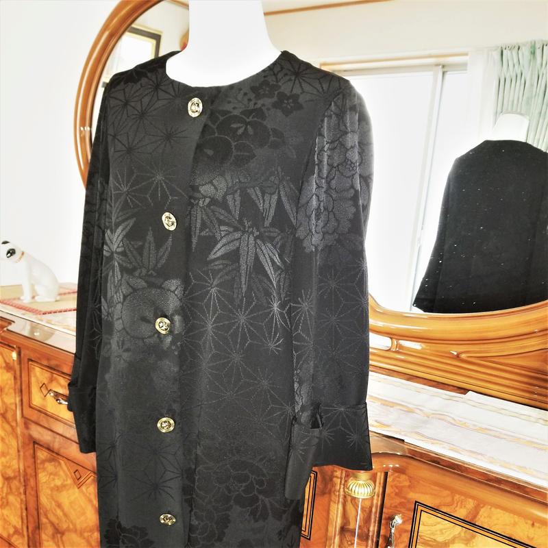 ご自宅で洗濯ok!眠ってるお着物、コートワンピにリメイクします