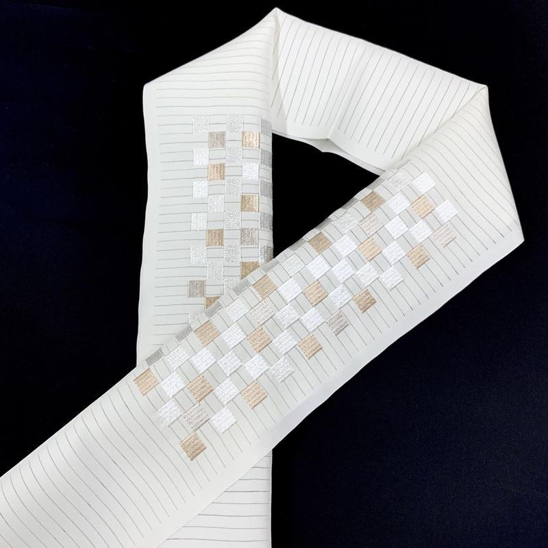 12-139 夏 刺繍半衿