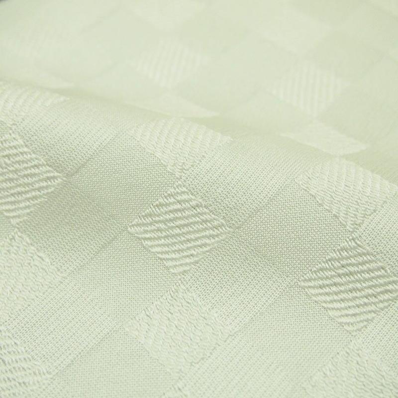 5-112 地模様 市松柄 絹半衿1