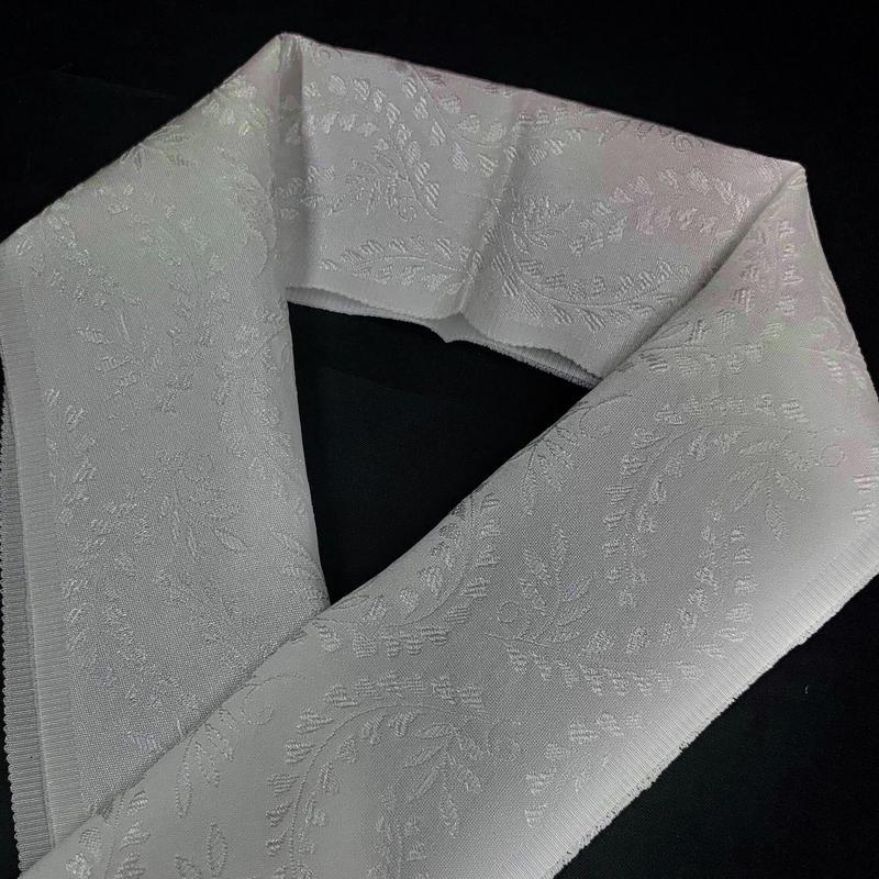 5-166 地模様 ウォッシャブル 絹半衿 3