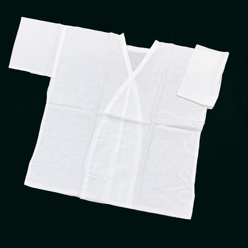 4-44 ガーゼ共袖肌襦袢 LLサイズ