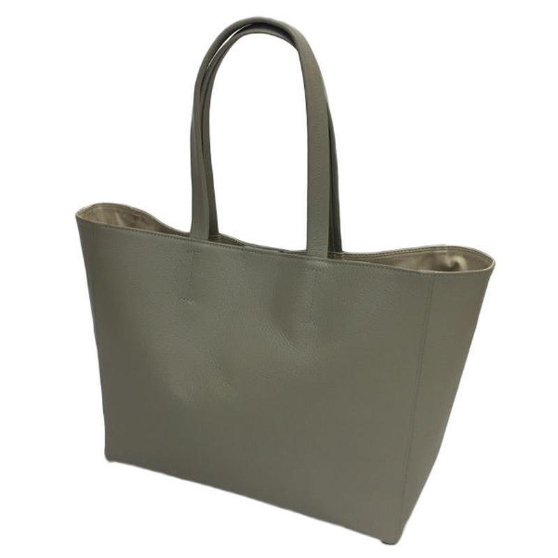 オール牛革 本革バッグ A4ファイルがスッポリ入る トートバッグ 軽量 リアル シュリンクレザー