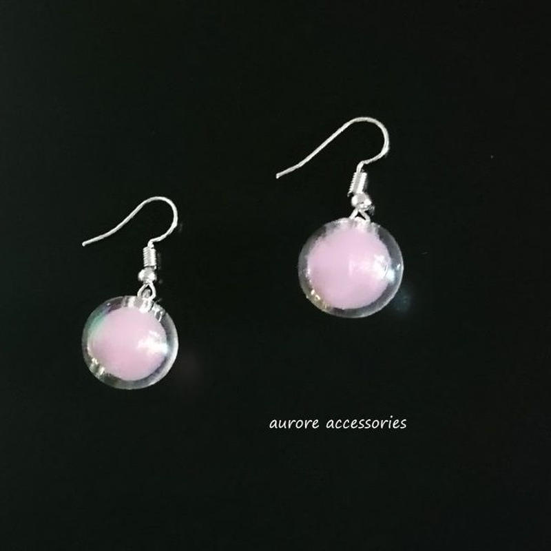 pink pierced earrings