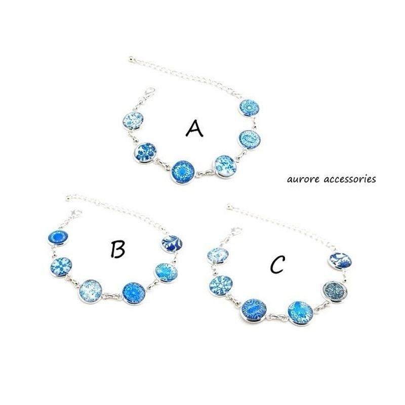 bracelet ブレスレット ブルー系