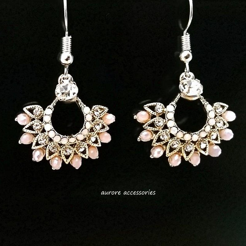 gorgeous pierced earrings ビジューピアス