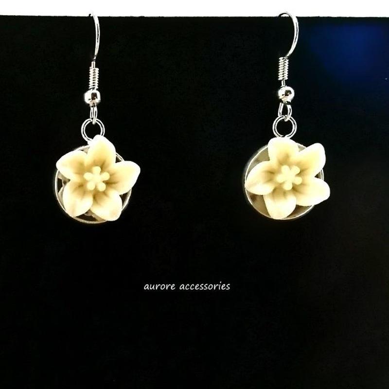 flower pierced earrings カラフルピアス フラワー  のコピー