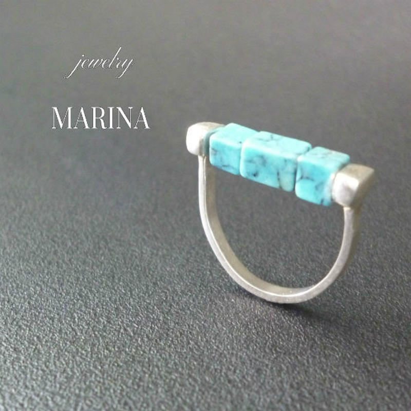 LINE ring - turquoise