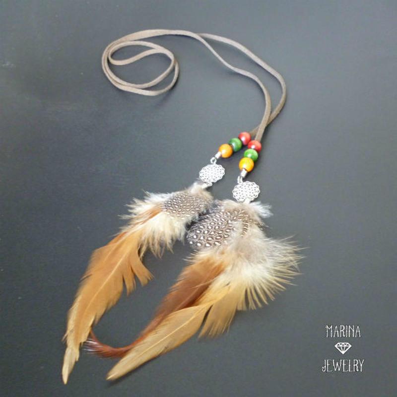 feather lariat - 冬のラリエット