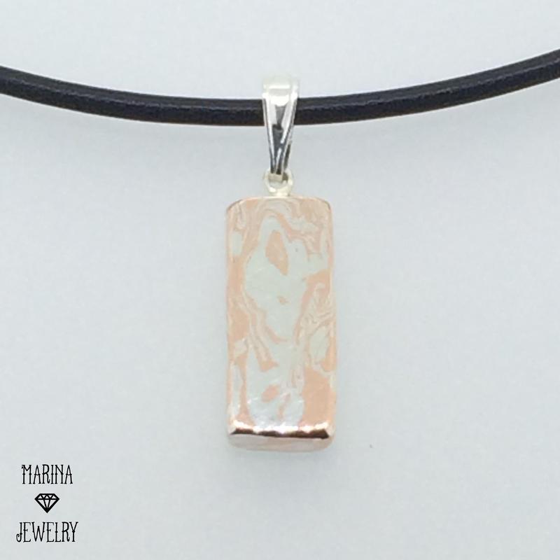 ZEBRA - necklace plate - m