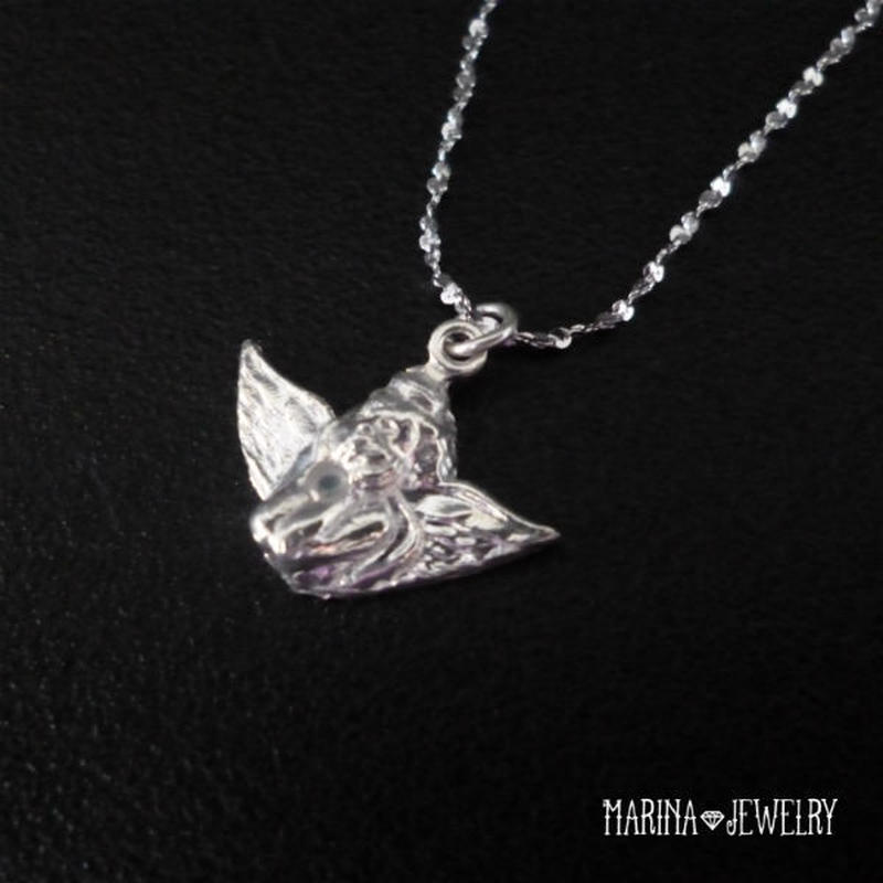 Angel - silver -
