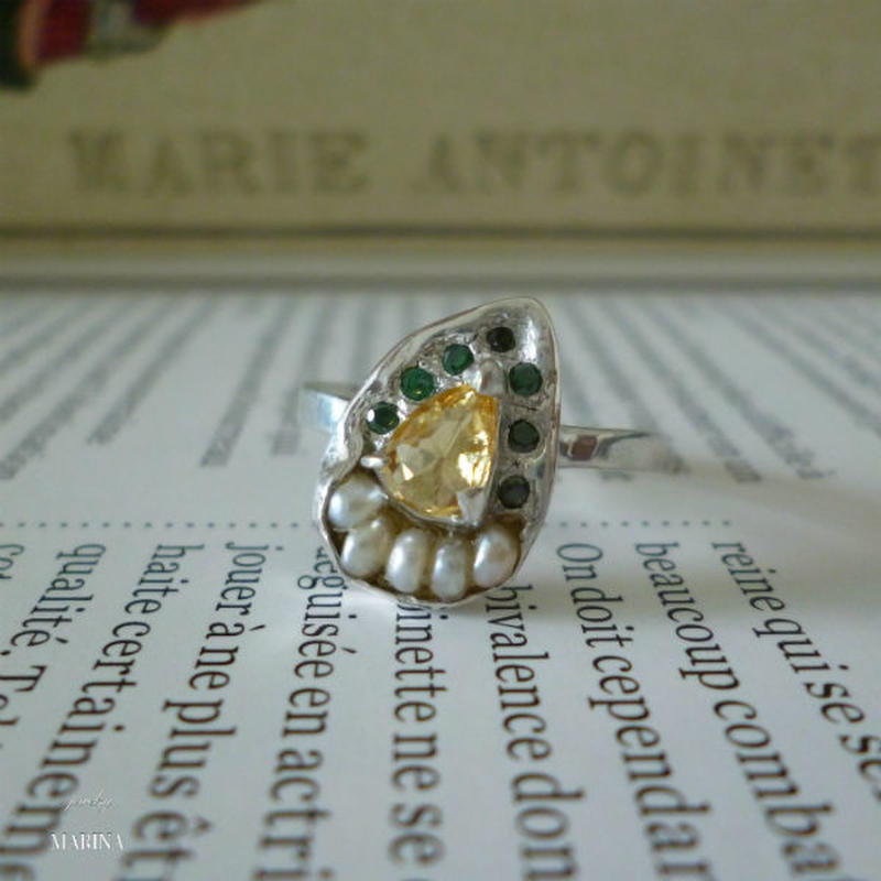 Antique silver Ring - #001