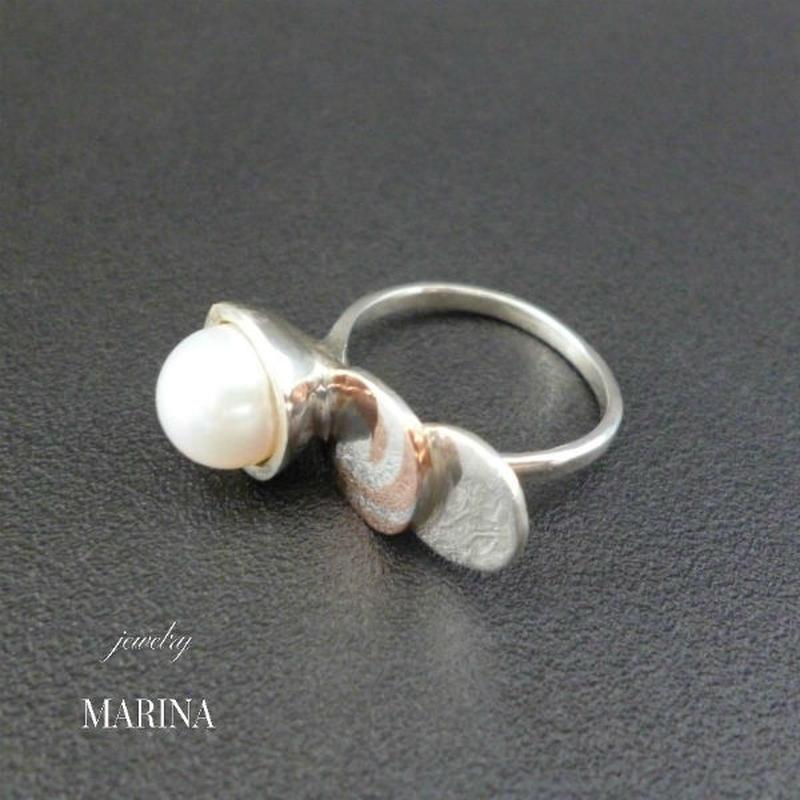 ZEBRA - ring pearl #2