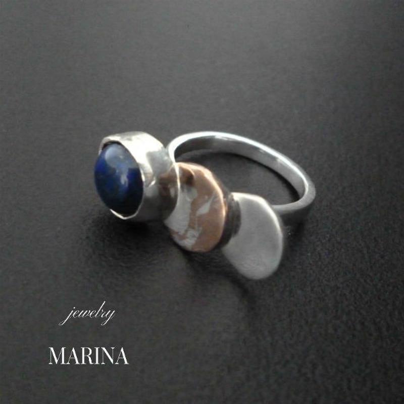 ZEBRA - ring lapis lazuli