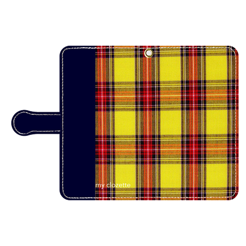 myclozette yellow check smart phone cover / Android
