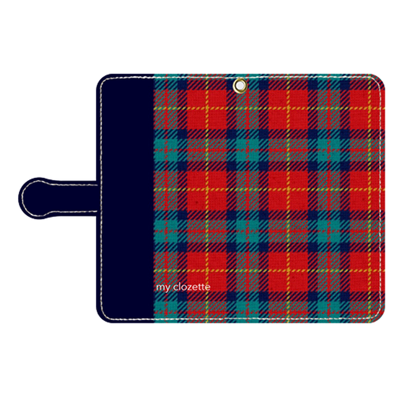 myclozette red check smart phone cover / Android