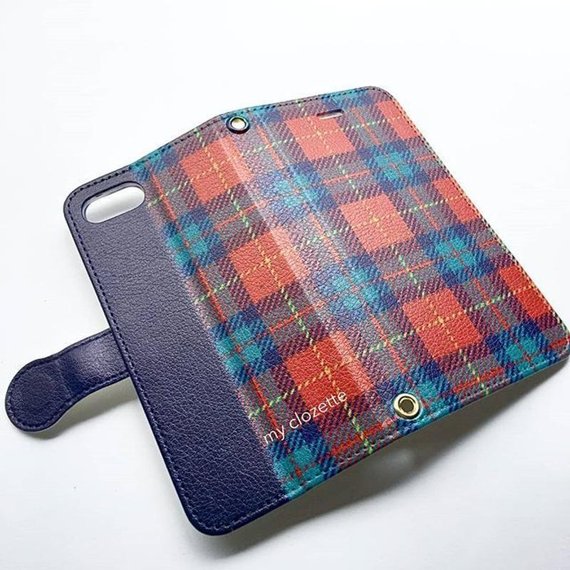 myclozette red check  smart phone cover / iPhone