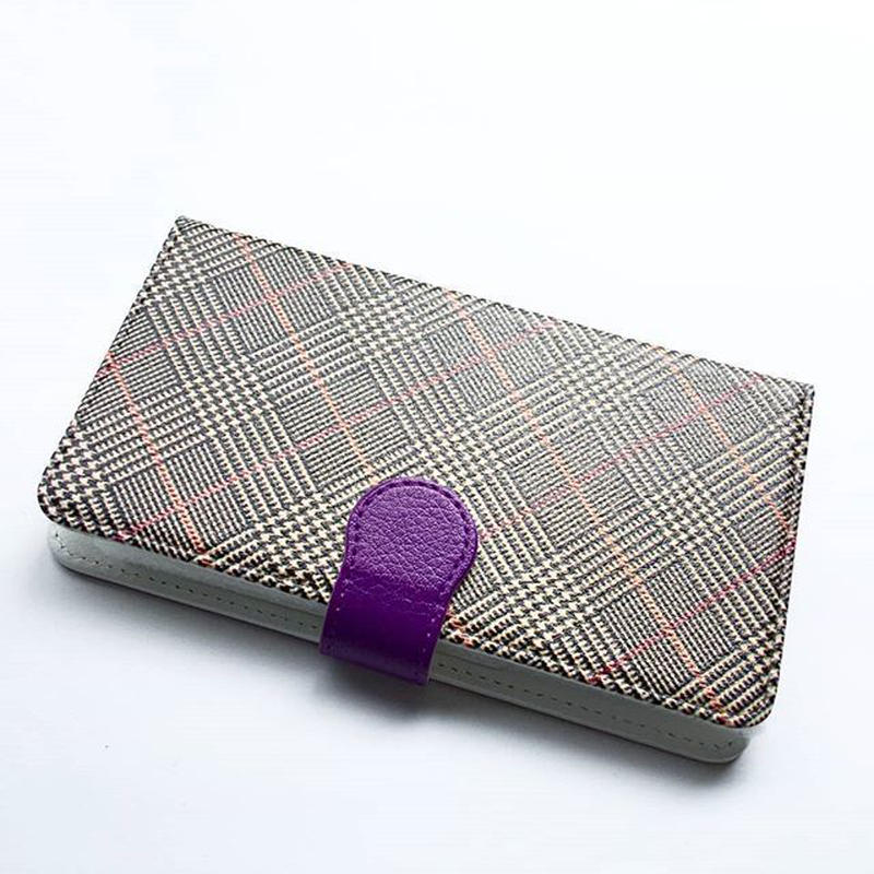 myclozette brown check  smart phone cover / iPhone