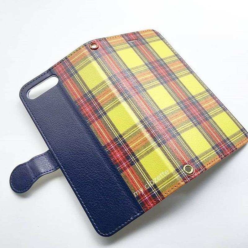 myclozette yellow check  smart phone cover / iPhone