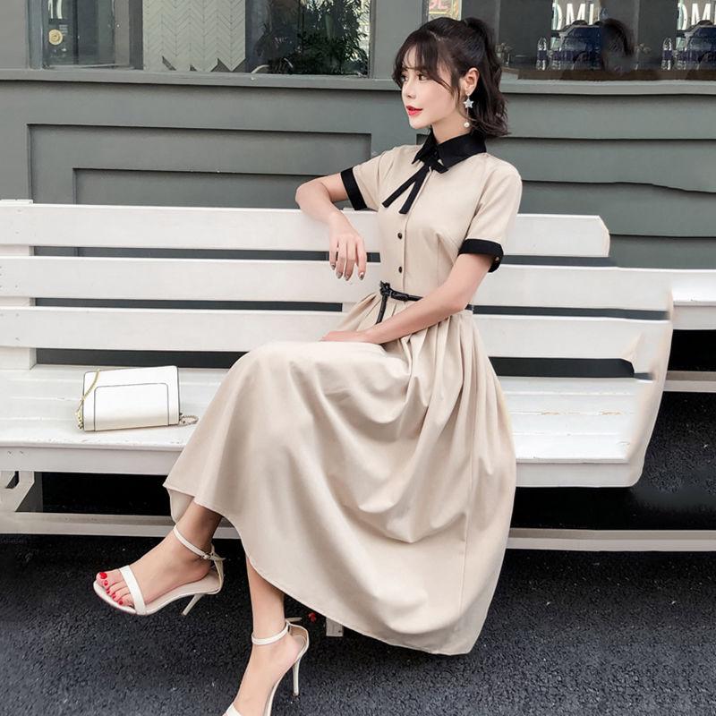 ワンピース❤ボウタイリボンのガーリーなお嬢様ワンピ hdfks962311