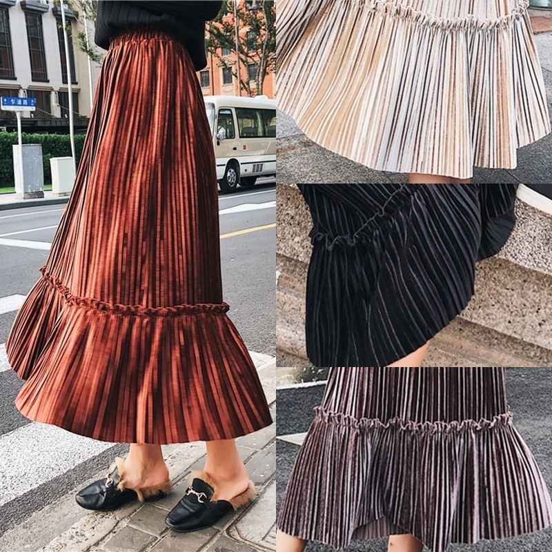 スカート❤ふわっとやさしい、大人女子の演出できるスカート hdfks958066