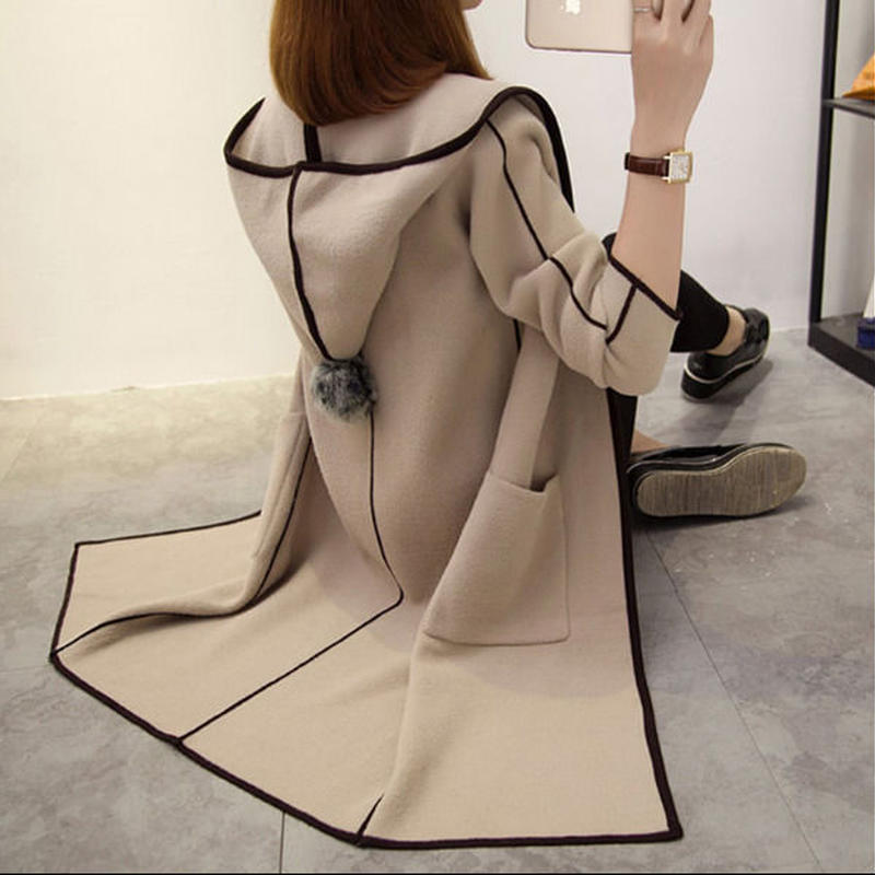 アウター❤パーカーコート 羽織るに最適なとっても可愛いコート hdfks961869