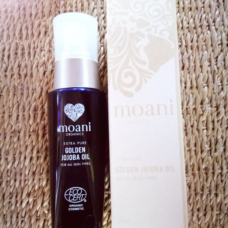 moani organics GOLDEN JOJOBA OIL extra pure for all skin types ゴールデンホホバオイル保湿美容液(無香料)