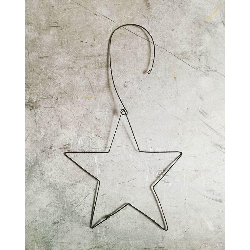 ワイヤーオーナメント 星