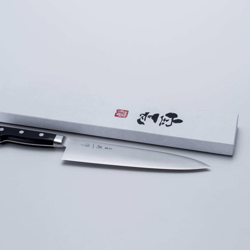 美濃 英一作 青紙牛刀210mm