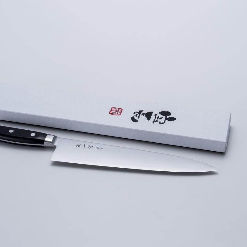 美濃 英一作 モリブデン鋼VG-1牛刀240mm