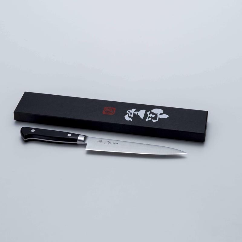 美濃 英一作 モリブデン鋼VG-1ペティナイフ150mm