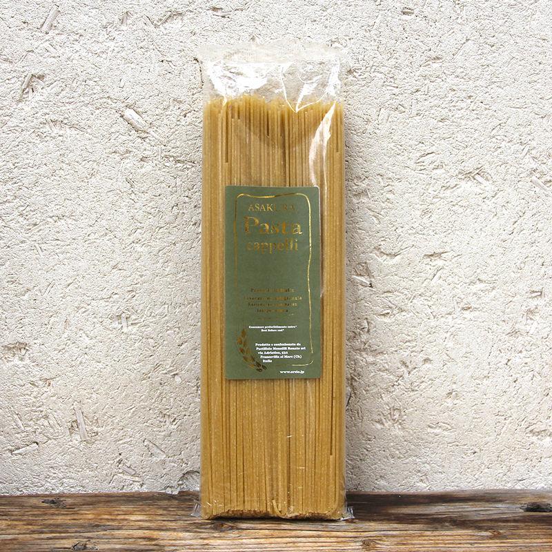 【アサクラ】カッペッリ小麦 スパゲッティ 七分搗き 1.8mm