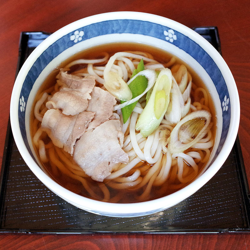 むぎきり(生麺、タレ付き)