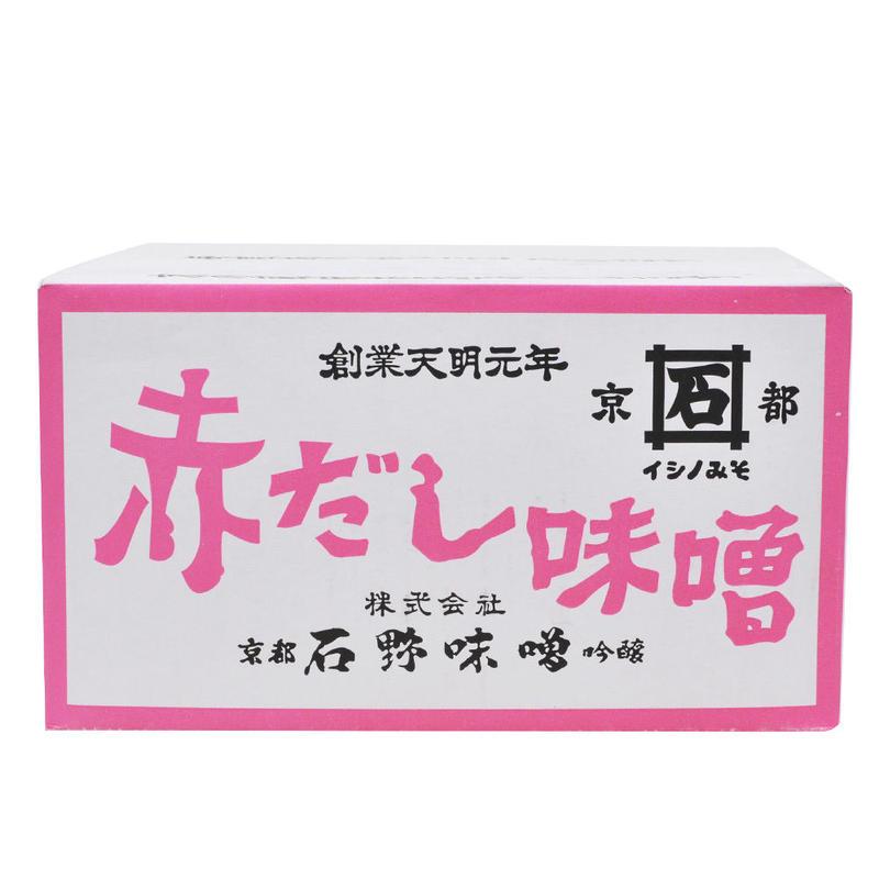 -京都石野味噌- 赤だし味噌 2kg