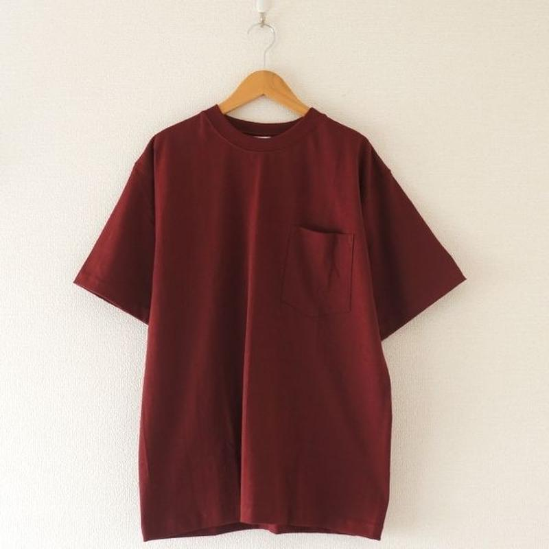 CAMBER(キャンバー) / MAX WEIGHT T-SHIRT バーガンディー (size S/M /L)