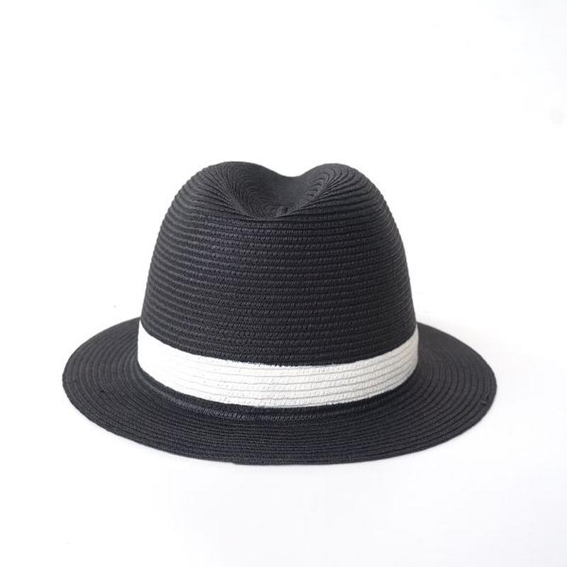 HIGHER(ハイヤー)/ポッケタブル センタークリス BLACK-white