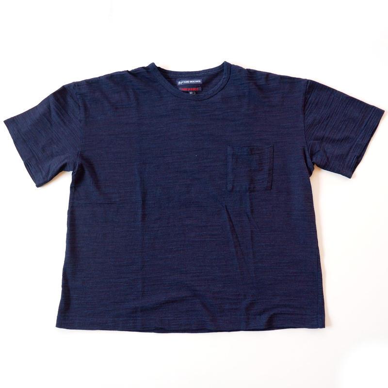 TIGRE BROCANTE(ティグルブロカンテ)スーピマコットンインディゴ ベニスビーチTシャツ