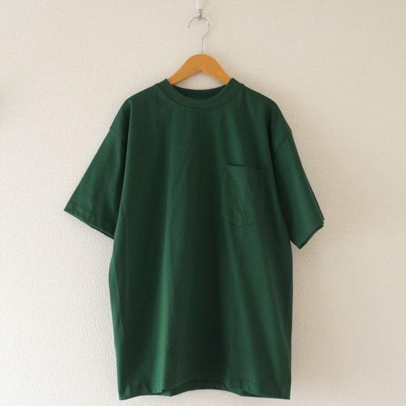CAMBER(キャンバー) / MAX WEIGHT T-SHIRT ダークグリーン (size S/M /L)