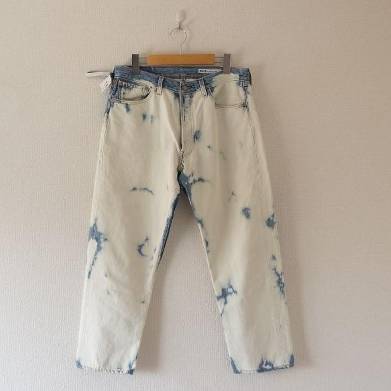 Sunny side up(サニーサイドアップ)/ remake bleach denim pants size3
