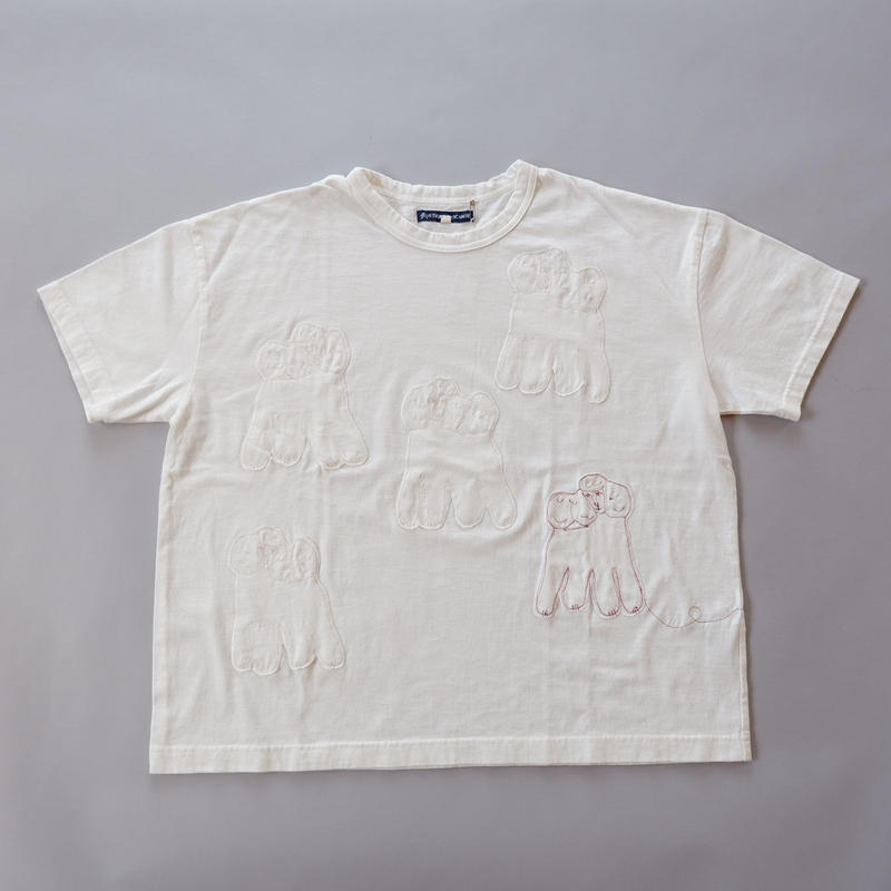 TIGRE BROCANTE (ティグルブロカンテ)/poudre T-shirt/many