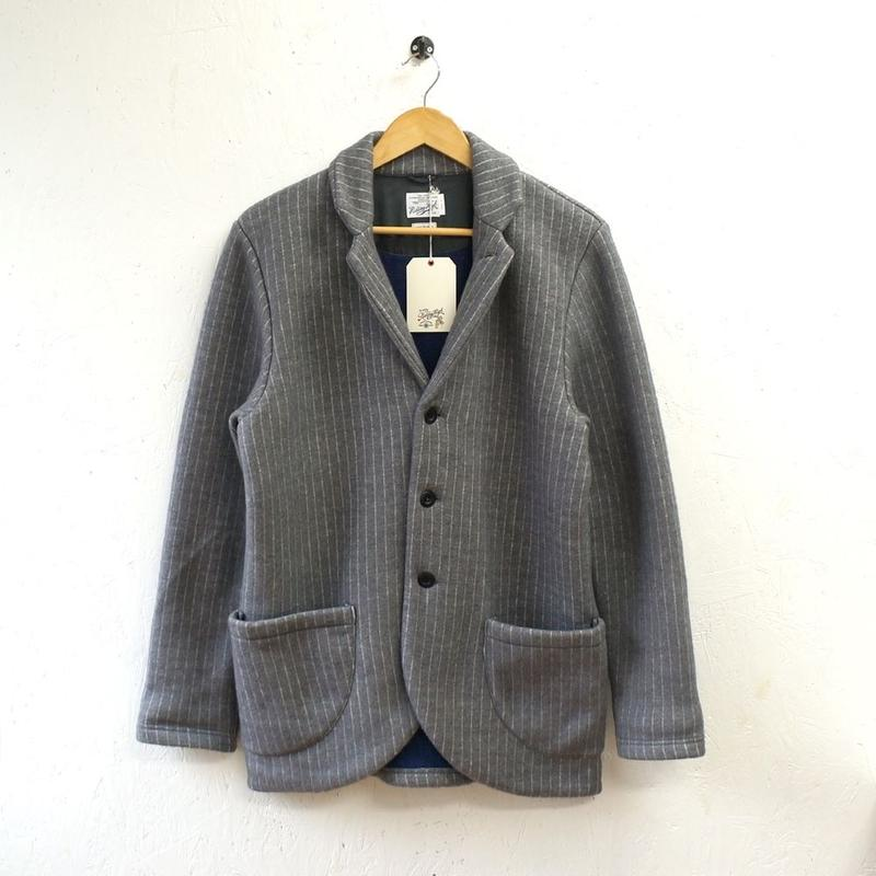 RIDING HIGH (ライディングハイ)/ Stripe Fleece Jacket