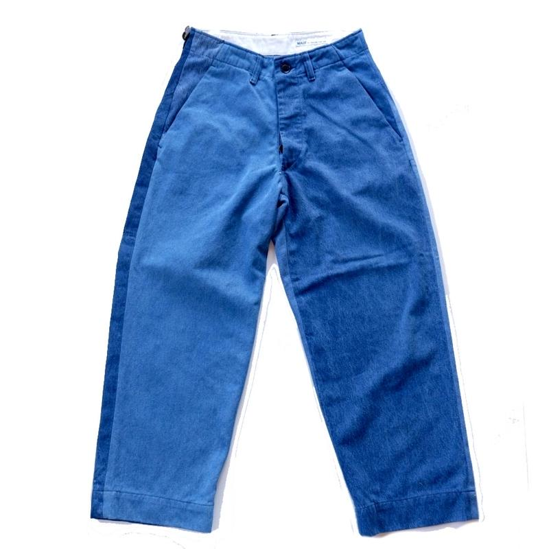Sunny side up(サニーサイドアップ)/ remake denim trousers (1)
