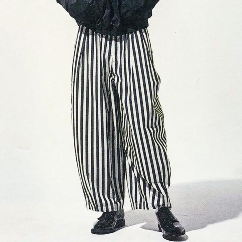 【6月下旬 再入荷予定】HARVESTY (ハーベスティ) INDIGO STRIPES CIRCUS PANTS(インディゴストライプサーカスパンツ)