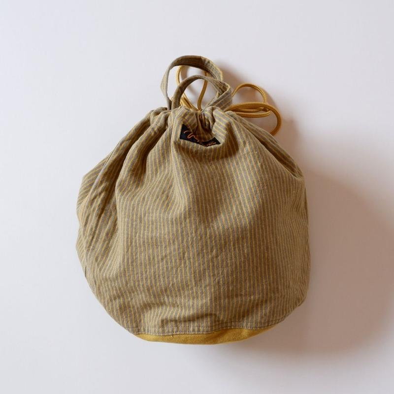 NAPRON(ナプロン)/ PATIENTS BAG  ペイシェントバッグ/boarder×mustard